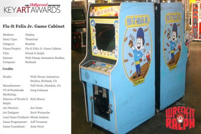 Bronze Award - Wreck-It Ralph Working Game Cabinet