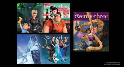 D23 Magazine Covers