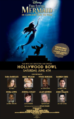 Little Mermaid In Concert at The Hollywood Bowl